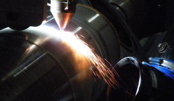 lasercladden, laser cladden